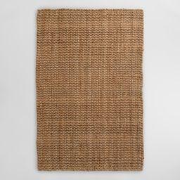 Natural Basket Weave Jute Rug - 5' x 8' by World Market | World Market