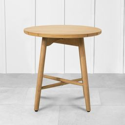 Outdoor Round Side Table Natural - Hearth & Hand with Magnolia | Target