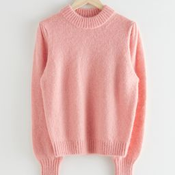 Alpaca Blend Knit Sweater   & Other Stories