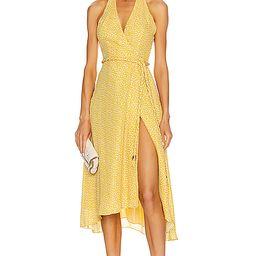 NICHOLAS Cynthia Dress in Yellow | FWRD
