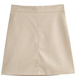 'Krista' Faux Leather Mini Skirt (3 Colors) | Goodnight Macaroon