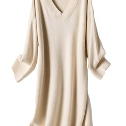 'Natalia' V-neck Sweater Dress (3 Colors) | Goodnight Macaroon
