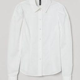 Puff-sleeved Shirt | H&M (US)