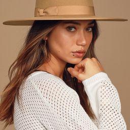 Rancher Light Brown Wool Fedora Hat | Lulus (US)