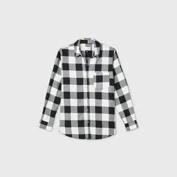 Women's Plaid Long Sleeve Button-Down Shirt - Universal Thread™ | Target