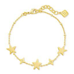 Jae Star Delicate Chain Bracelet in Gold | Kendra Scott