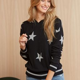 Esme Star Hoodie Pullover   Evereve
