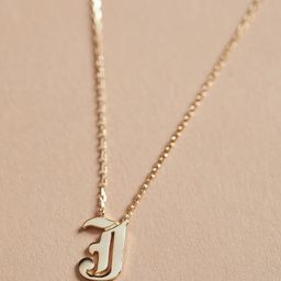 Cali Initial Necklace   Evereve