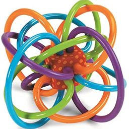 Manhattan Toy Winkel Rattle & Sensory Teether Toy | Amazon (US)