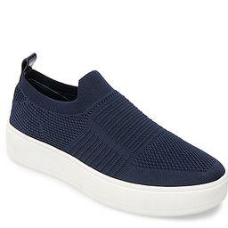 Steve Madden Beale Platform Slip-On Sneaker - Women's - Navy   DSW