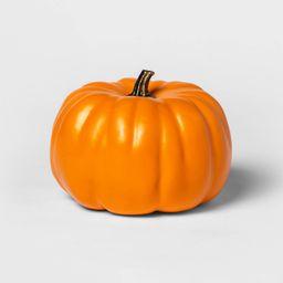 """Halloween 7.5"""""""" Solid Orange Painted Halloween Decorative Pumpkin - Hyde & EEK! Boutique   Target"""