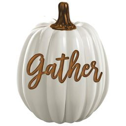 Medium Resin Gather Pumpkin | Target