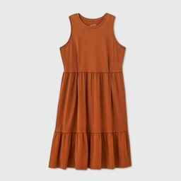 Women's Plus Size Sleeveless Dress - Universal Thread Brown 4X   Target