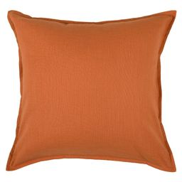 """20""""""""x20"""""""" Solid Throw Pillow Orange - Rizzy Home 