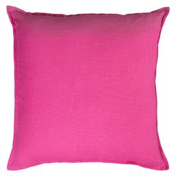 """20""""""""x20"""""""" Solid Throw Pillow Hot Pink - Rizzy Home 