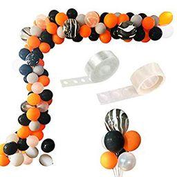Balloon Arch Garland Kit, 108 Pcs Balloon Bouquet Kit, Halloween Day Party, Holiday, Wedding, Baby S | Walmart (US)