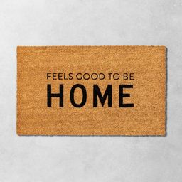 'Feels Good To Be Home' Seasonal Doormat - Hearth & Hand with Magnolia | Target