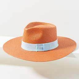 Teri High-Crown Rancher By Anthropologie in Orange Size ALL   Anthropologie (US)