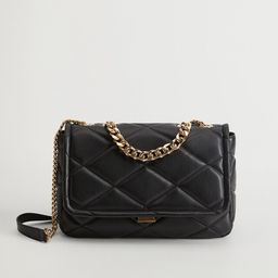 Quilted chain bag | MANGO (US)