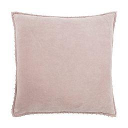 Light Pink Solid Cotton Pillow   Kirkland's Home