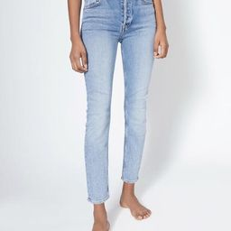 Comfort Stretch High Rise Ankle Crop - Mid 90s   RE/DONE