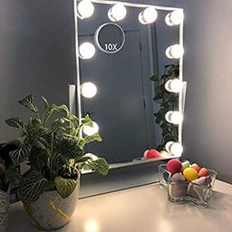 Hansong Large Hollywood Makeup Vanity Mirror with Lights,Plug in Light-up Professional Mirror wit...   Amazon (US)