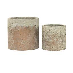 Golden Cement Pot   McGee & Co.