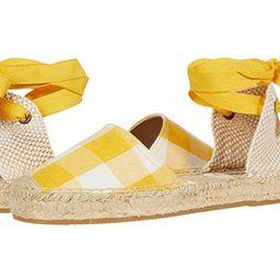 Soludos Lauren Espadrille Sandal (Marigold) Women's Shoes   Zappos