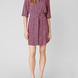 Checks Every Box Gingham Mini Dress | Express