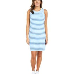 Vineyard Vines Overdyed Nantucket Shift Dress (Jake Blue/Marlin) Women's Dress | Zappos