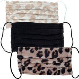 Leopard Cotton Face Mask | Ulta