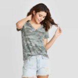 Women's Short Sleeve V-Neck T-Shirt - Universal Thread™ | Target