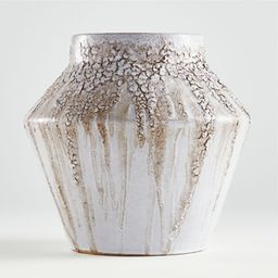 Fairview White Bark Vase + Reviews | Crate and Barrel | Crate & Barrel