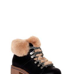 Time and Tru - Time and Tru Women's Faux Fur Hiker Boots - Walmart.com   Walmart (US)