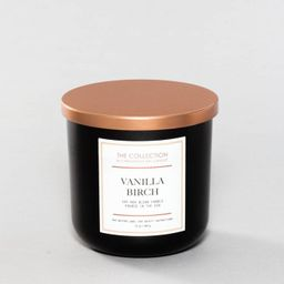 12oz Lidded Black Jar Candle Vanilla Birch - The Collection By Chesapeake Bay Candle | Target