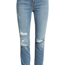 Good Waist Ripped High Waist Ankle Skinny Jeans | Nordstrom