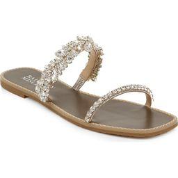 Badgley Mischka Jenelle Embellished Slide Sandal | Nordstrom