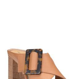 Women's Donald Pliner Ashlie Buckle Slide Sandal, Size 7.5 M - Brown | Nordstrom
