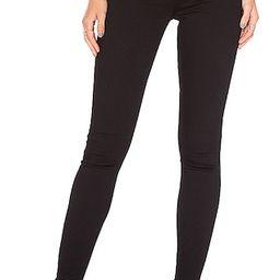 Kendall Super Stretch High-Rise Skinny Jean in Black Magic Woman | Revolve Clothing (Global)