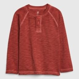 Toddler Long Sleeve Henley Shirt | Gap (US)