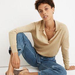 Polo Sweater | Madewell