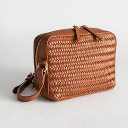 Basket Weave Crossbody Bag   & Other Stories