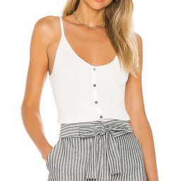 One Grey Day Sterling Cami Tank in White. - size S (also in L,M,XS)   Revolve Clothing (Global)