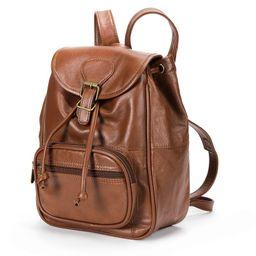 AmeriLeather Mini Leather Backpack, Brown   Kohl's