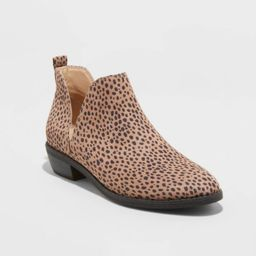Women's Nora Cut Out Ankle Bootie - Universal Thread™   Target