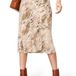 Linda Snake Print Skirt | Nordstrom