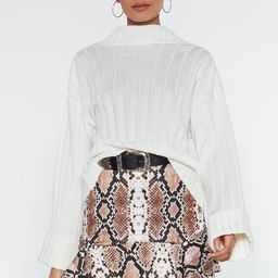 Snake Print Micro Skirt | NastyGal (US & CA)