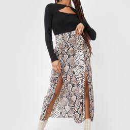 Cold Heart Snake Skirt | NastyGal (US & CA)