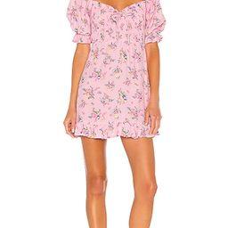Sage Mini Dress in Pink Juliette Floral | Revolve Clothing (Global)