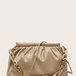 Minimalist Ruched Bag | SHEIN